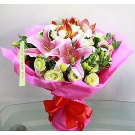 Mixed Seasonal Flowers Bouquet, Mixed Seasonal Flowers Bouquet