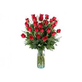 24 rosas de tallo large, 24 rosas de tallo large