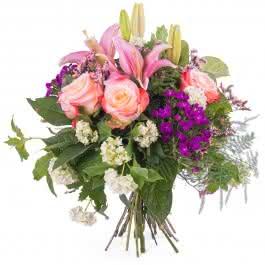 Mediterrâneo, Ramo de Flores Primaveril Multicolor
