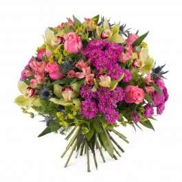 Toscana, Ramo com rosas e orquideas