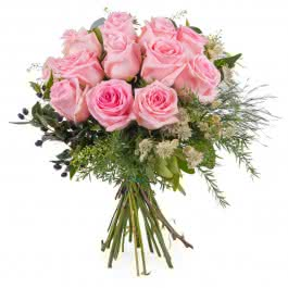 Graça, Rosas Cor-de-Rosa de Pé Curto