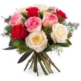 Delicadeza, Rosas Multicor de Pé Curto