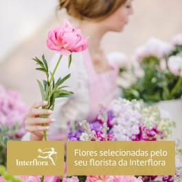 Ramo do Florista, Buquê de flores variadas seleccionadas por seus floristas da Interflora