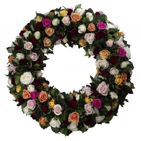 Funeral wreath, Funeral wreath