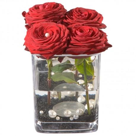 Roses 4 YOU vase inclus, Roses 4 YOU vase inclus