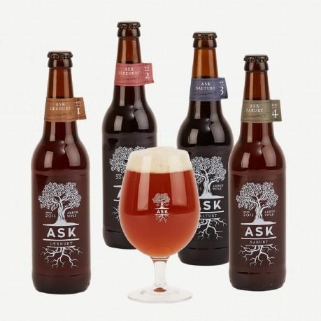 ASK beer - 4 variants, ASK beer - 4 variants