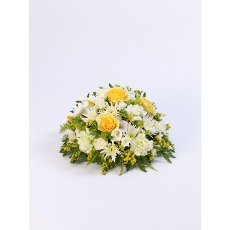 Classic Posy  Yellow and White, Classic Posy  Yellow and White