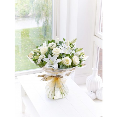 WONDERFULLY WHITE HAND-TIED, WONDERFULLY WHITE HAND-TIED