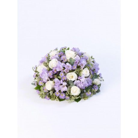 SCENTED POSY - LILAC AND WHITE, SCENTED POSY - LILAC AND WHITE