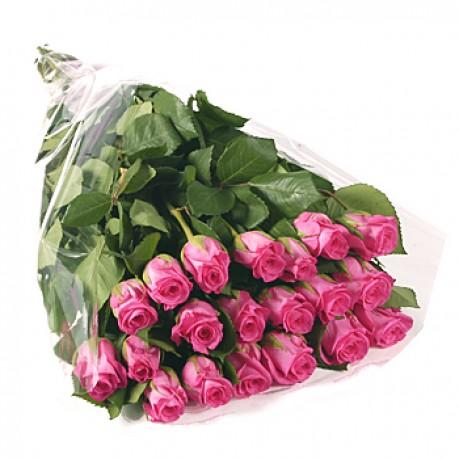 Bunch of 20 stems pink roses, Bunch of 20 stems pink roses