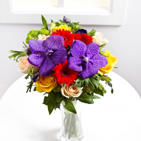 Colourful seasonal bouquet, Colourful seasonal bouquet