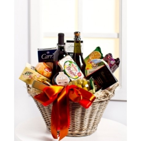 Luxurious Gourmet Gift Basket, Luxurious Gourmet Gift Basket