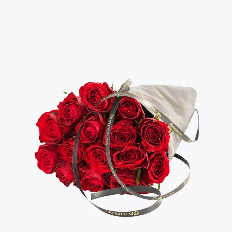 Red Roses, Gift Wrapped, Red Roses, Gift Wrapped