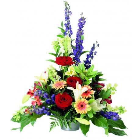 Arreglo de flores mixtas, Arreglo de flores mixtas