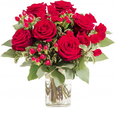 "Ramo de rosas rojas ""Evita"", Ramo de rosas rojas"