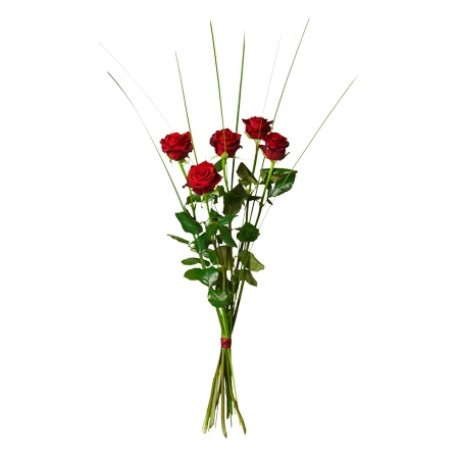 Bouquet of 5 red roses, Bouquet of 5 red roses