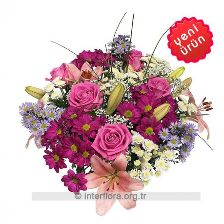 Bouquet of Cut Flowers, Bouquet of Cut Flowers