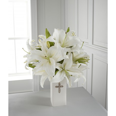 The FTD Faithful Blessings Bouquet - VASE INCLUDED, The FTD Faithful Blessings Bouquet - VASE INCLUDED