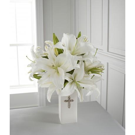 The FTD Faithful Blessings Bouquet - VASE INCLUDED, The FTD Faithful Blessings Bouquet - VASE INCLUDED