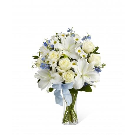 Dulce florero Bouquet Paz incluido, Dulce florero Bouquet Paz incluido