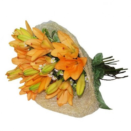 Bunch of Lilies - Orange, Bunch of Lilies - Orange