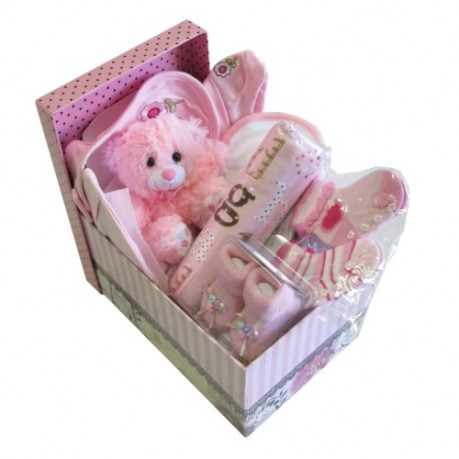 Baby Hamper Pink (M) - HEAD OFFICE, Baby Hamper Pink (M) - HEAD OFFICE