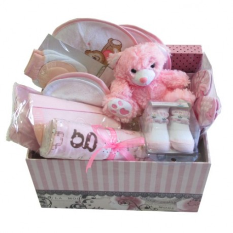 Baby Hamper Pink - (L) - HEAD OFFICE, Baby Hamper Pink - (L) - HEAD OFFICE