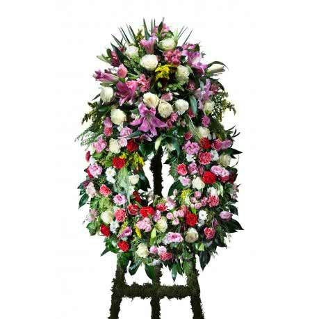 Coroa Clássica, Coroa Clássica Multicor com Cabeção