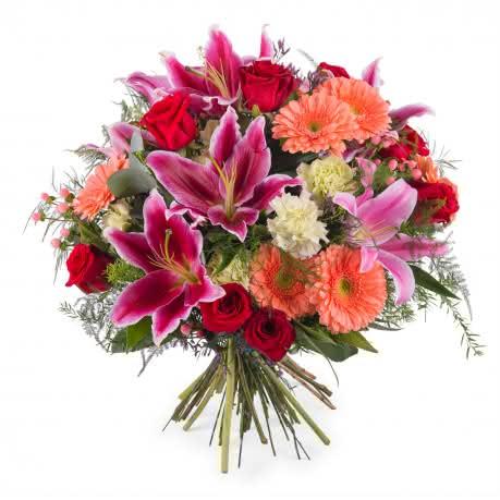 Seicheles, Ramo de Rosas com Liliuns