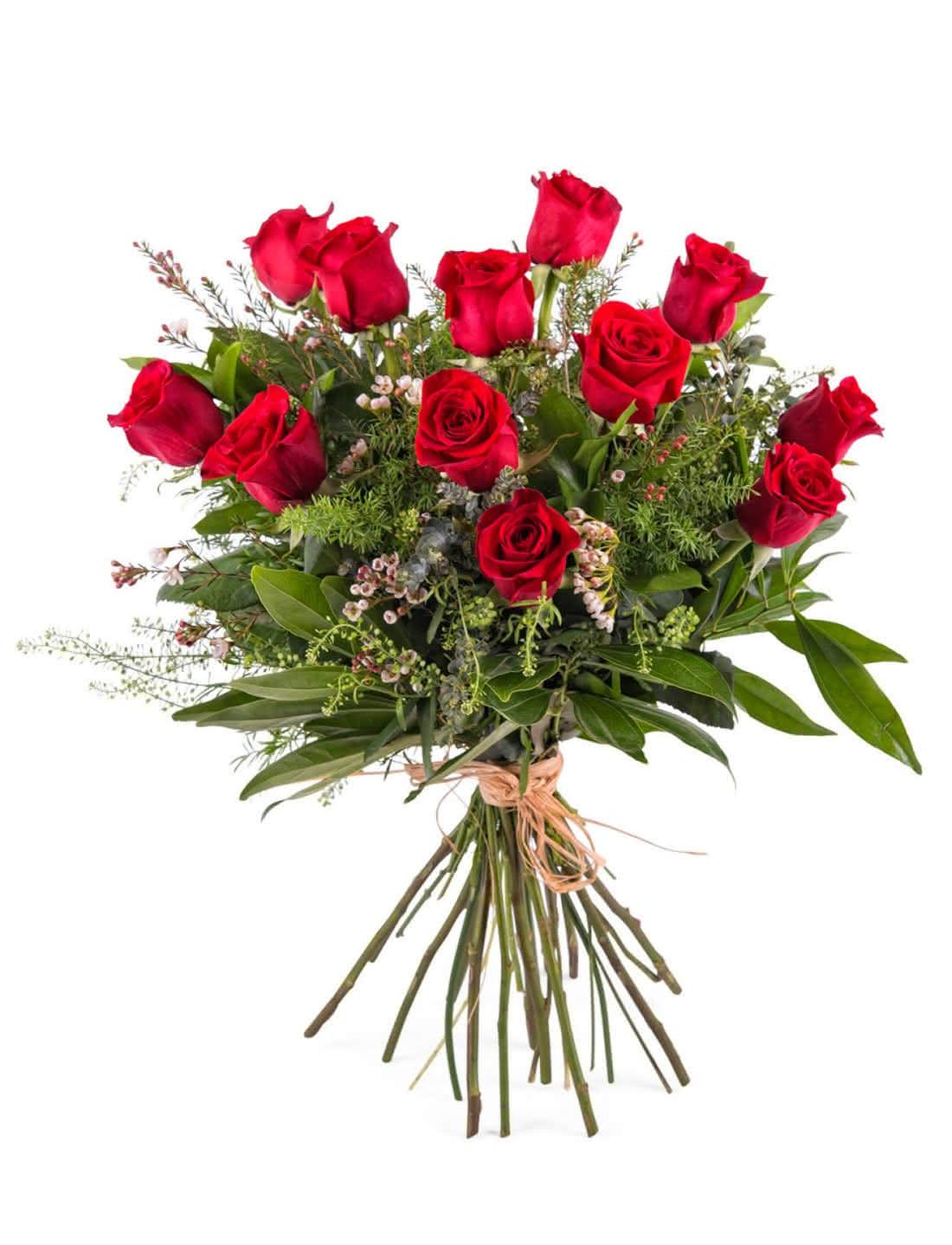 Rosas vermelhas para declarar o seu amor no dia 14 de fevereiro
