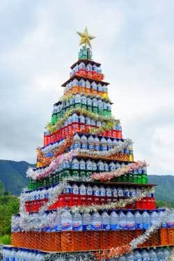 Árvores de Natal emotivas e sustentáveis