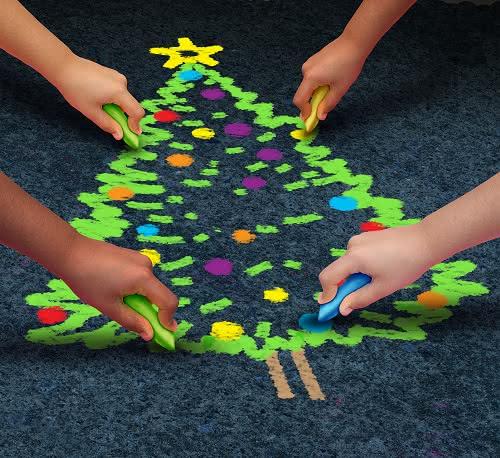 Escolha aquele lugar especial para a sua árvore de Natal