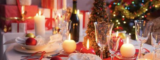 Luzes em casa pelo Natal