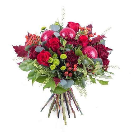 O vermelho das Flores de Natal e centros de mesa