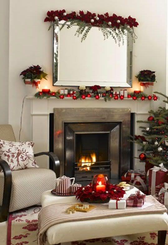 Decore a sua casa para o Natal com flores