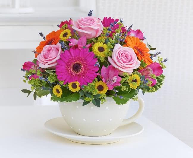 Razões para oferecer flores