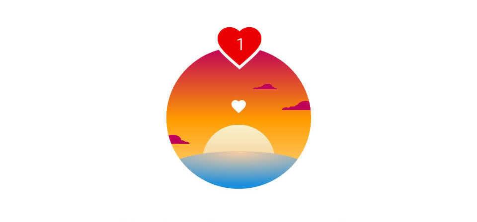 Assista ao pôr do sol com o amor da sua vida