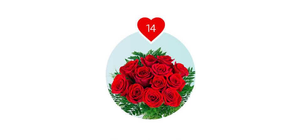 Mas acima de tudo, não se esqueça oferecer rosas no dia dos namorados